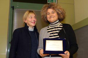 Monica Ciavatta riceve il Premio Cultura d'Impresa 2016